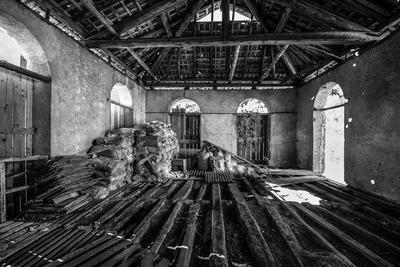 La ex fabbrica Collotta & Cis, ph Circolo Fotoamatori Valle di Ledro