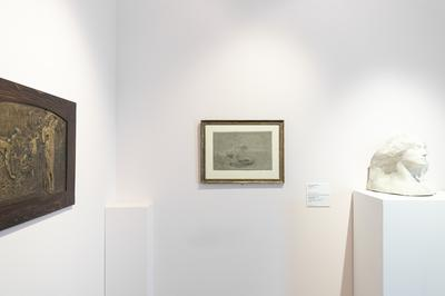 Galleria Civica G. Segantini, exhibition view, ph Jacopo Salvi